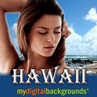 HAWAII Digital Backgrounds Vacation Studio Photography Backdrops!
