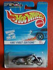 1997 FIRST EDITION N°9/12 SCORCHIN SCOOTER 1/64 HOT WHEELS BLISTE IMPORT US