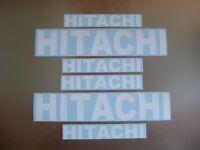 HITACHI STICKERS DECALS FORKLIFT MINI DIGGER EXCAVATOR