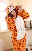 Unisex Cute Adult Pajamas Kigurumi Xmas Cosplay Costume Animal Sleepwear
