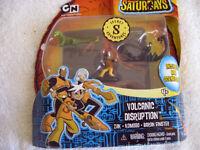 The Secret Saturdays Volcanic Distruption Action Figure Pack New In Box T1-5