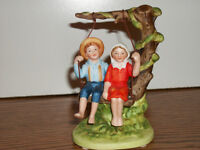Norman Rockwell Summer Fun 1984  The Museum Miniatures figurine collection