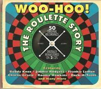 WOO-HOO! THE ROULETTE STORY - 2 CD BOX SET - BUDDY KNOX & MORE