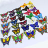 Lot NEW butterfly Patch Embroidered Iron On Applique patches for clothes DIY