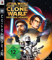 SONY PS3 Star Wars: The Clone Wars - Republic Heroes PlayStation 3 OVP gebraucht