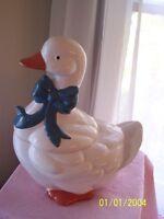 Duck Ceramic Cookie Jar