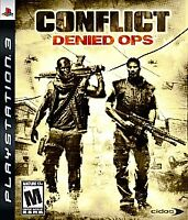 Conflict: Denied Ops (Sony PlayStation 3, 2008) COMPLETE  FAST SHIPPING !  PS3