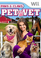 Paws & Claws: Pet Vet (Nintendo Wii, 2009)      COMPLETE      FAST SHIPPING !!!