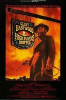61397 Clint Eastwood High Plains Drifter Western Wall Print Poster Affiche