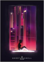 63745 Ghost In The Shell Wall Print Poster Affiche