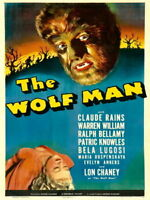 64775 The Wolf Man 1941 Retro Wall Print Poster Affiche