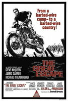 65276 The Great Escape Movie Tom Adams teve McQueen Wall Print Poster AU