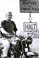 65357 The Great Escape Steve McQueen, James Garner Wall Print Poster AU