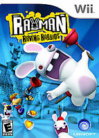 Rayman Raving Rabbids (Nintendo Wii, 2006)      DISC ONLY         FAST SHIPPING