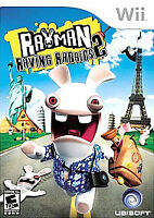 Rayman Raving Rabbids 2 (Nintendo Wii, 2007)   COMPLETE      FAST SHIPPING !!!!