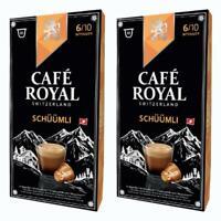 Café Royal Schüümli Kaffee Röstkaffee KaffeeKAPSELN NESPRESSO Kompatibel 20 K