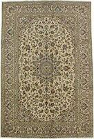 Elegant Traditional s Antique Beige Persian Rug Oriental Area Carpet 6'4X9'7