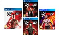 PS4 Bundle Listing WWE 2K15,16,17,18 Same Day Dispatch 1st Class Delivery Free
