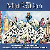 Music for Motivation by Arcangelos Chamber Ensemble CD 2000 Advanced Brain NEW
