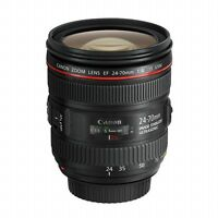 NEW Canon EF 24-70mm f/4 L USM IS Lens ZOOM Wide Angle IN WHITEBOX UK