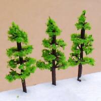 100PCS Model Fir Tree for Train Garden Scenery Wargame Landscape N Z Scale
