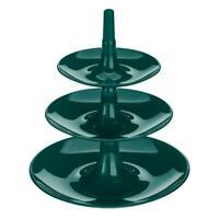 Koziol Babell XS Etagere Obstschale Servierturm Servierplatte Emerald Green 19.8