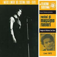 Massimo Ranieri CONSIDÉRANT 2012 neuf CD live 1972 2CD