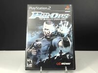 Psi-Ops: The Mindgate Conspiracy (Sony PlayStation 2, 2004)  DISC ONLY FAST  PS2