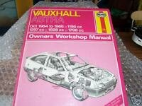 VAUXHALL ASTRA 1984-86' All Models HAYNES MANUAL NEW!!