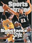 May 31, 1999 Tim Duncan San Antonio Spurs Kobe Bryant Lakers Sports Illustrated
