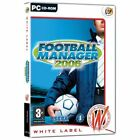FOOTBALL MANAGER 2006 - Soccer Management Sim PC NEW