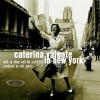 "CATERINA VALENTE ""CATERINA VALENTE IN NEW YORK"" CD NEW"