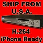 8 CH Channel Standalone DVR H.264 iphone CCTV Security