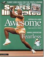 May 26, 2003 Serena Williams Tennis Sports Illustrated