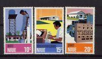 Niue 1976 SG#208-10 Utilities MNH Set