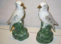 Nostalgie 2 gebrauc Porzellan Figuren Tauben 19 cm hoch