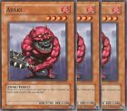 3 X YU-GI-OH: ABAKI - CDIP-EN013