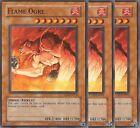 3 X YU-GI-OH: FLAME OGRE - CDIP-EN014