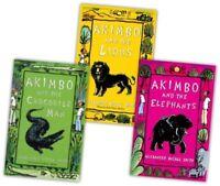 Alexander McCall Smith Akimbo Collection 3 Books Set