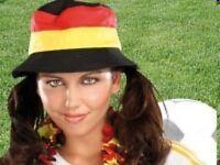 FAN-SCHLAPPHUT DEUTSCHLAND Mütze Hut Cappy -  NEU