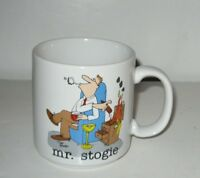 "The Misters Jim Benton ""Mr Stogie"" Ceramic Coffee Mug"