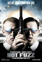 Brand New Movie Poster: Hot Fuzz *BUY 1 GET 1 FREE*  (A3 / A4)