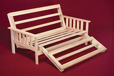 Futon Frame Solid Wood New Tri Fold Futon Lounger Bed