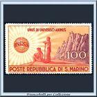 1946 San Marino L. 100 UNRRA n. 296 Nuovo Integro **