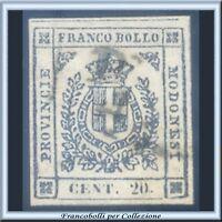 ASI 1859 Modena Governo Provvisorio c. 20 n. 15 Usato