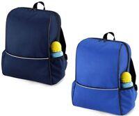 Childs Junior School Backpack Rucksack NAVY or ROYAL BLUE