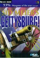 Sid Meier's GETTYSBURG - PC Civil War Strategy Game NEW