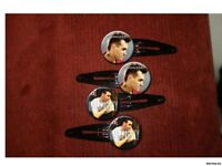 MORRISSEY The Smiths set of 4 barrettes