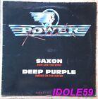 Saxon / Deep Purple, Rare maxi vinyl promo