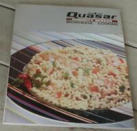 Quasar Microwave Cooking, Vintage Cookbook, VG COND